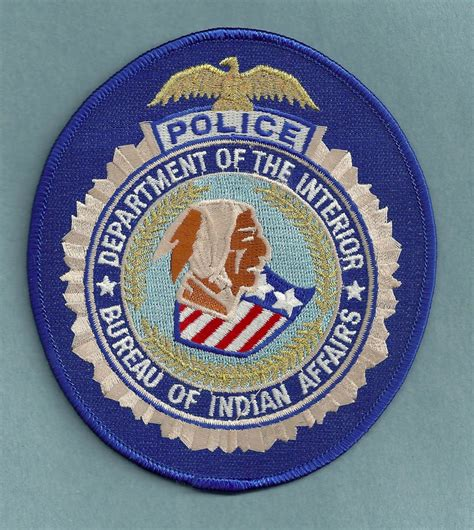 bia bureau of indian affairs bureau of indian affairs patch