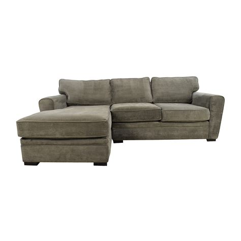 raymour and flanigan grey sectional sofa shop 2 sofas