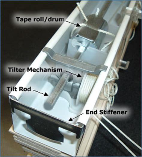 replace  window blinds tilter tilt mechanism