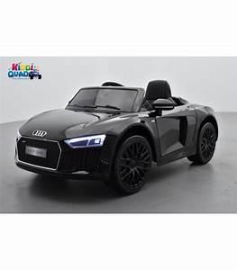 Audi R8 Enfant : audi r8 12 volts spyder noir s tronic lectrique pour enfant ~ Melissatoandfro.com Idées de Décoration