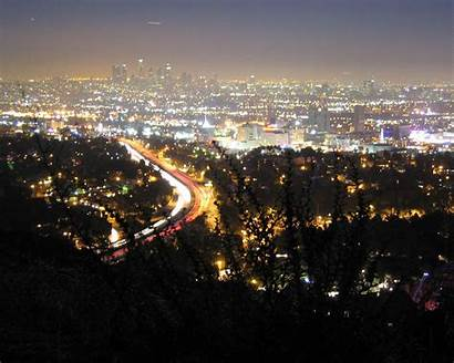 Hollywood Hills Angeles Los Night Wallpapers Anders