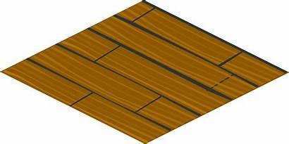 Floor Tile Isometric Clipart Clip Wooden Lantai