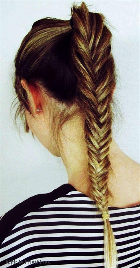 simple braid hairstyles  long hair jpg