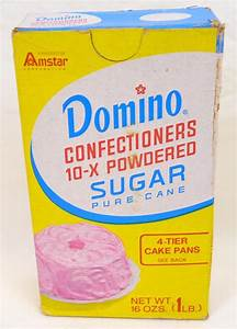 1970's unopened Domino confectioners 10-x powdered sugar