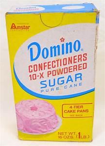 1970's unopened Domino confectioners 10-x powdered sugar