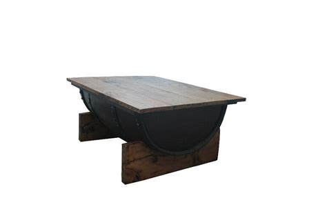 Brolo coffee table with the walnut and dark panel finish, this is a classy addition to the brolo range with the added benefit of a shelf underneath for storage. Reclaimed Whiskey Barrel Coffee Table | in Whitehall, Bristol | Gumtree