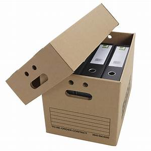 cardboard document boxes heavy duty archive storage with With document storage boxes cardboard