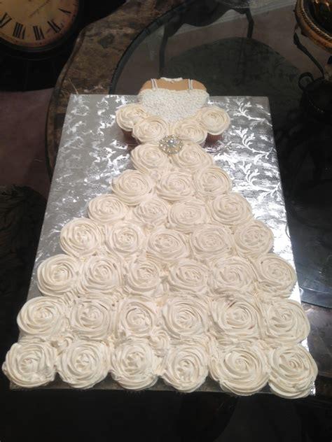 cupcake wedding dress   bridal shower bodice