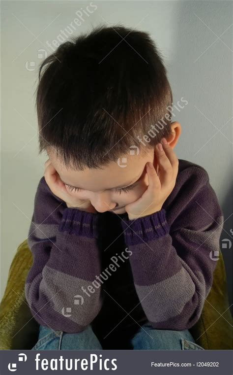 sadness expressions sad  boy stock picture