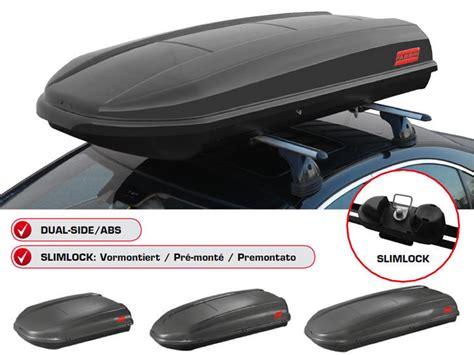 Box Portabagagli Per Auto cubo 460 litri box portatutto tetto auto fabbri
