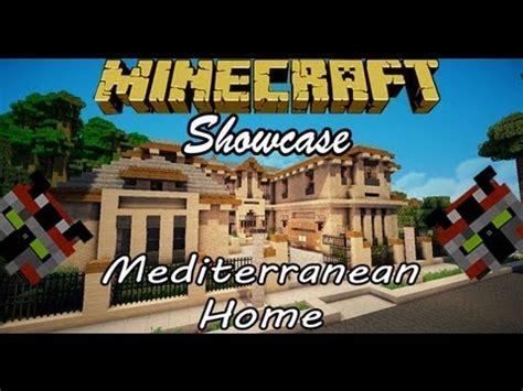 minecraft  mediterranean home youtube