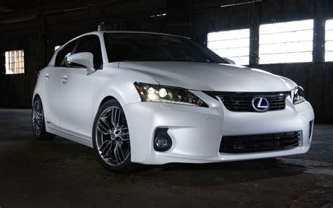 2012 Lexus Ct 200h Gains Optional F-sport Package; Minimal