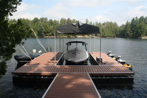Floating A Boat Lift by Aluminum Floating Truss Docks Waterfront Products R