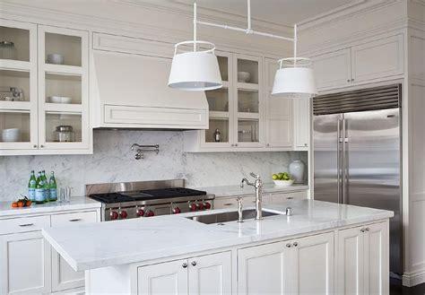 White And Cream Kitchens  Transitional  Kitchen