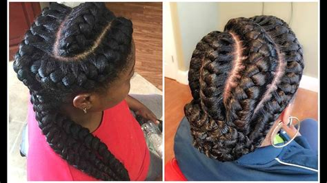 Goddess Braided Hairstyles For Black Women