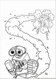 Fire Extinguisher Coloring Page