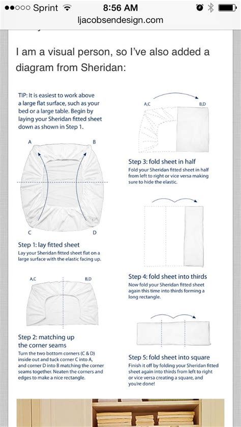 folding a fitted sheet diagram for folding fitted sheet housekeeping