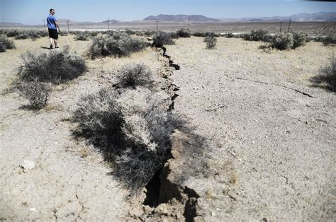 No reports of damage or injuries as of yet. Movement Recorded Along Garlock Fault in California | Time