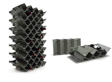 Zigzag Wine and Bottle Rack ? ACCESSORIES    Better Living Through Design