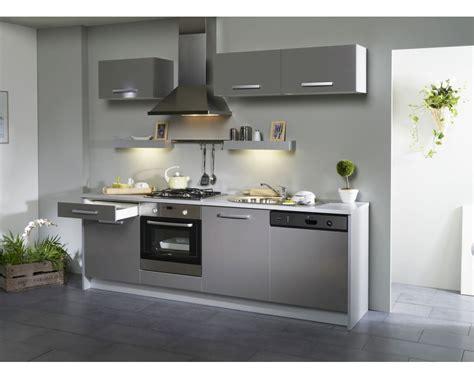 cuisine complete grise cuisine en image