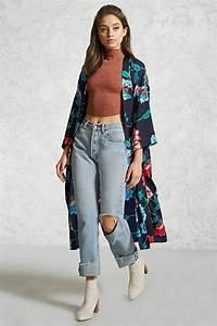 Kimono Long Femme : kimono femme comment le porter et avec quelle tenue ~ Farleysfitness.com Idées de Décoration
