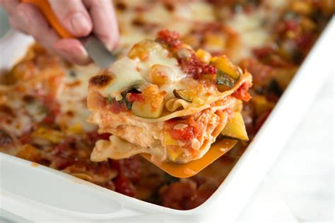 vegetarian lasagna vegetable lasagna recipe dishmaps