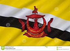 Flag Of Brunei Borneo Royalty Free Stock Photos Image