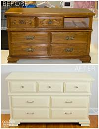 paint old furniture How to Give Old Furniture a Modern Look with Chalk Paint ...
