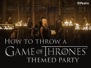 Event Ideas: How to plan a Game of Thrones themed party