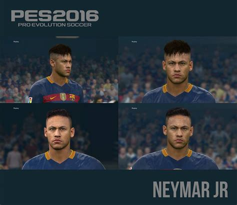 pes modif pes  neymar jr  face hair  alberado