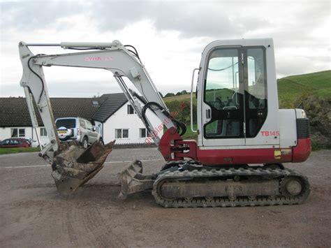 takeuchi tb midi excavator  sale