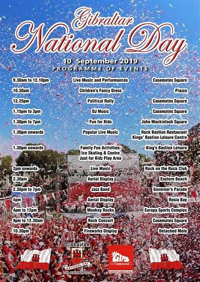 National Gibraltar September Events Gi Official Visit