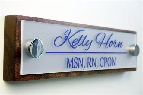 office door  plate personalized office accessories