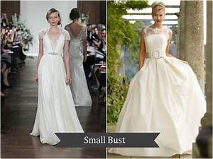 bridal fashion 101 the perfect wedding dress for your With wedding dresses for small bust