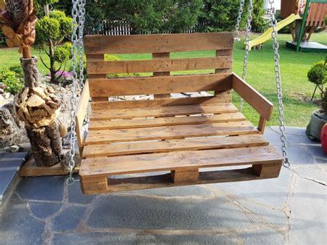 Gartenmöbel Aus Paletten Kaufen by Gartenschaukel Aus Paletten Holywoodschaukel In