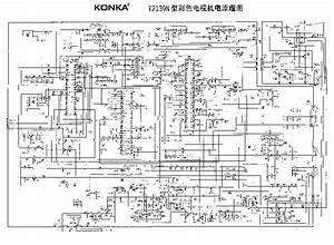Konka Schematic Diagrams T2568k