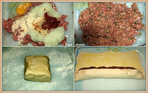 tresse de viande hach 201 e a la p 194 te feuillet 201 e pique assiette