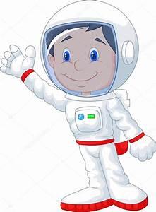 Dibujos animados de astronauta Vector de stock #49600239 Depositphotos