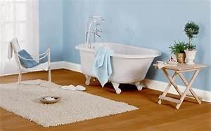 Chaise De Salle De Bain : peinture salle de bain 80 photos qui vont vous faire craquer ~ Teatrodelosmanantiales.com Idées de Décoration