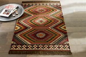 un tapis kilim vous apportera au paradis oriental de la With tapis kilim avec canapé xxl maison
