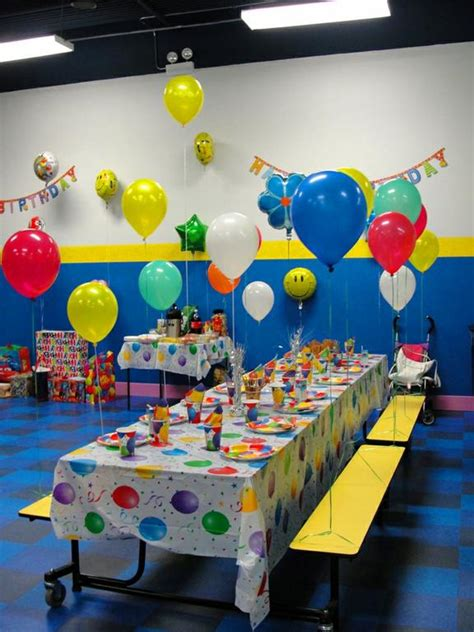 Yu Kids Island Party Room, Birthday Party For Kids In
