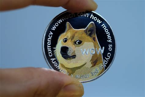 dogecoin doge cryptocurrency price hits record  tweets