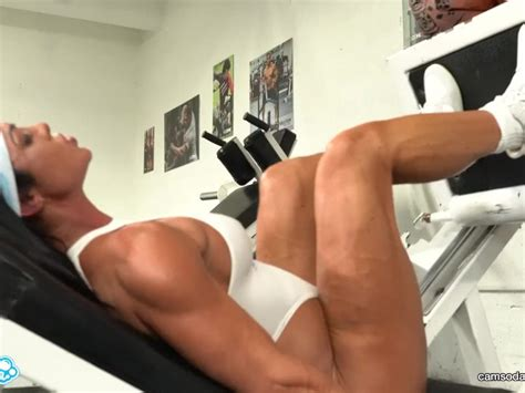 Camsoda Hot Milf Stepmom Fucked By Trex In Real Gym Sex