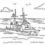 Coloring Guard Coast Pages Printable Military Ship National Army Check Gaurd Books Ships Print Sheets Boats Activity Fearless Printables Getcolorings sketch template