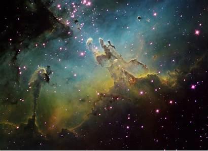 Hubble Pillars Creation Nebula M16 Eagle Resolution