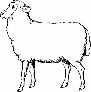 Sheep Head Clipart Black And White | Clipart Panda - Free ...