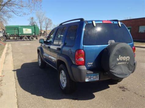 buy   jeep liberty limited sport utility  door