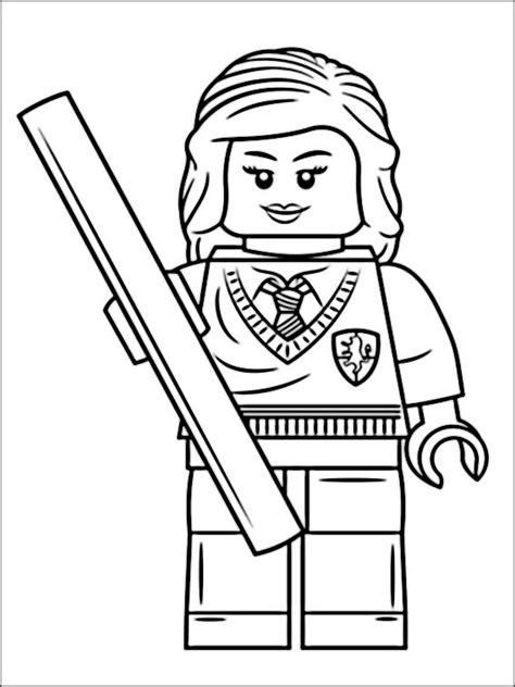 disegni da colorare harry potter lego disegni di lego harry potter 5