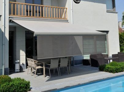 retractable awnings  designed   front retractable screen valance