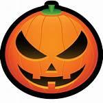 Pumpkin Clipart Jack Halloween Lantern Icon Evil